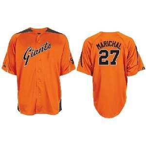Majestic Juan Marichal San Francisco Giants Orange Throwback Laser MLB