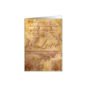 Love Romantice Valentines Day Card Card Health & Personal