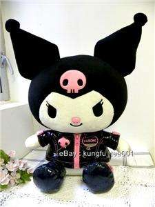 Sanrio Kuromi Devil Jacket Dressing Doll Plush Toy 15