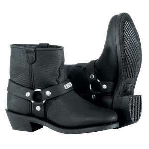 River Road Womens Low Cut Ranger Harness Motorcycle Boots