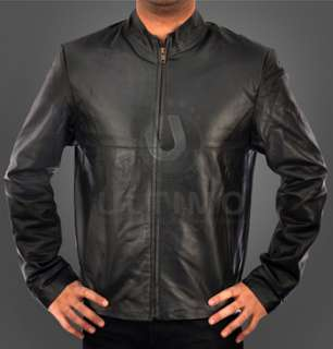 Minority Report Black Classic Cruise Leather Jacket
