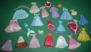 Polly Pocket Disney Princess Castle Dress Prince Lot B