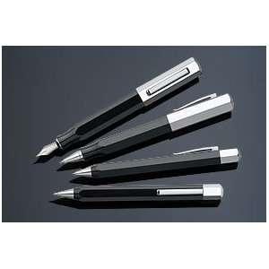 Graf von Faber Castell Ondoro Black Fountain Pen   Black