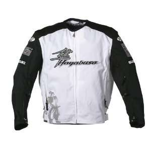 JOE ROCKET SUZUKI BUSA TEXTILE JACKET WHITE/BLACK MD