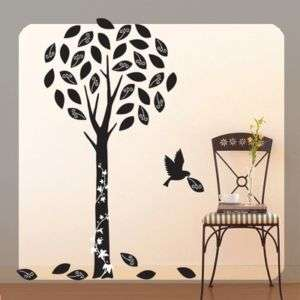 VS58605 Tree and Bird WALL ART DECOR DIY Decal STICKER