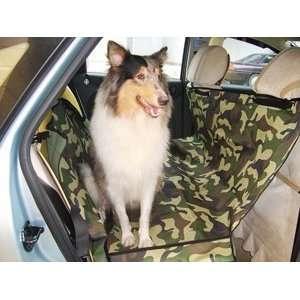 Dog Camouflage Rear Car Back Seat Gear Pet Outward Hammock