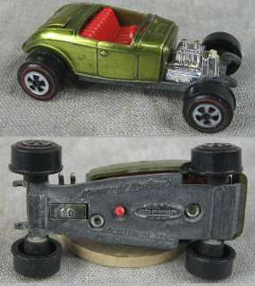 1960's~Johnny Lighting Hot Wheels Red Line Custom 1932 Ford Topper