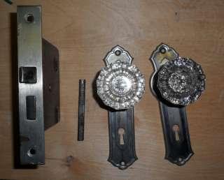 Vintage 13pc Schlage Lock Door Knob Boring Jig