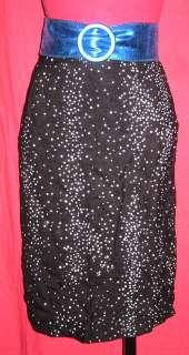 MICHELLE STUART Retro Polka Dot Pencil dress Skirt PS
