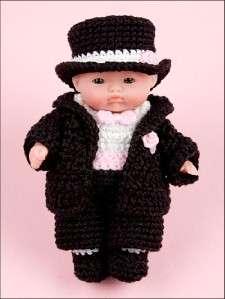 ITTY BITTY Baby DOLL 5 Tiny Steps NEW Crochet ONE DOLL