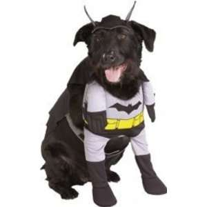 Dog Fancy Dress Costume Batman Deluxe   Size Large Toys