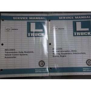 2005 Chevy Equinox Shop Service Repair Manual SE OEM (2 volume se