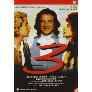 3 tre (Dvd) Italian Import christian de sica Movies & TV