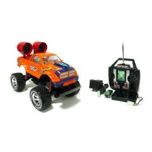 Dodge Ram Turbo Crusher Electric RTR RC Truck Toys & Games