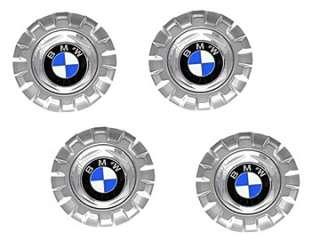 BMW e36 e39 z3 Wheel Center Caps cross spoke x4 GENUINE