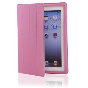Pink Magnetic Smart Slim Full Body Cover for Apple The New