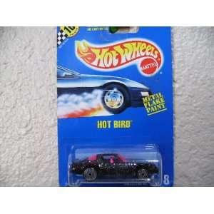 Hot Wheels Hot Bird #178 All Blue Card Black Flake Ultra Hot Wheels