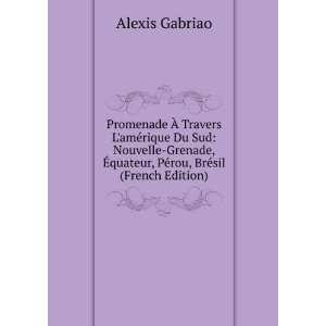 ?quateur, Pérou, Brésil (French Edition) Alexis Gabriao Books