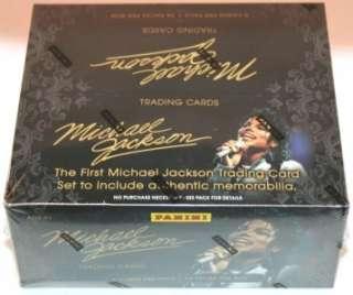 2011 PANINI MICHAEL JACKSON SEALED HOBBY TRADING CARDS BOX