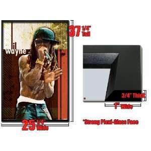 Framed Lil Wayne Poster Rapper No Shirt Hot Fr 24860 Home