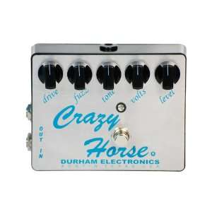 Durham Electronics Crazy Horse Fuzz Effects Pedal Musical Instruments