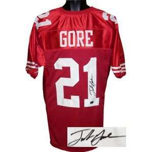 Frank Gore Signed San Francisco 49ers Jersey Sports