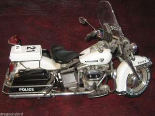 Franklin Mint Harley Davidson Police Patrol Helmet Cuff