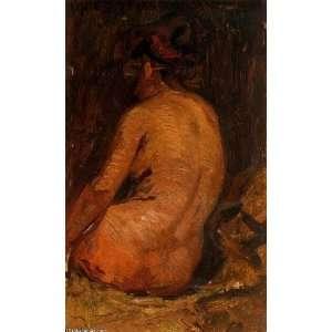 Pablo Picasso   32 x 52 inches   Desnudo femenino de espaldas