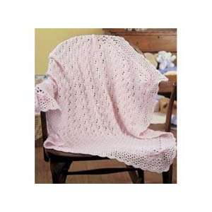 Simply Precious Baby Afghan Crochet Kit Arts, Crafts