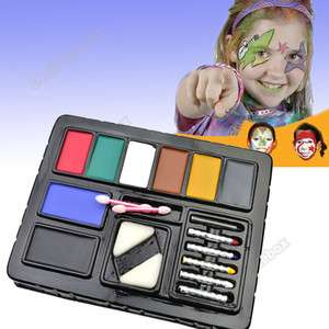 Fun Face Colorful Paint Ultimate Party Cosplay PACK KIT Painting Make