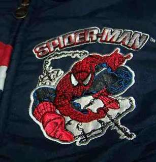 TODDLER BOY SPIDERMAN REVERSIBLE COAT 2T $60