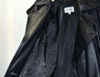 Pelle Studio Mens Wilson Leather Full Length Thick Heavy Leather Coat