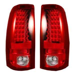 Recon 264173RD Red LED Tail Light Automotive