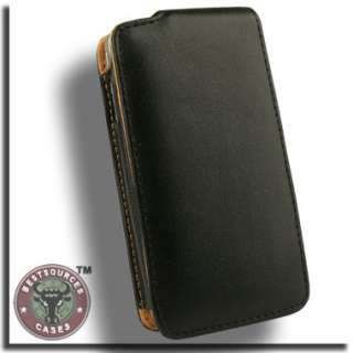Genuine Leather Flip Case for Apple iPhone 4 Holster