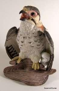 Boehm Original FLEDGLING SPARROW HAWK Bird Figurine