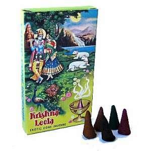 Krishna Leela Incense Cones