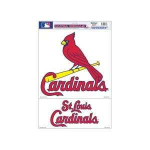 St. Louis Cardinals Removable Car Truck Window Wall Decal