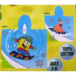 Nickelodeon SpongeBob SquarePants Snow Fun Themed Hooded