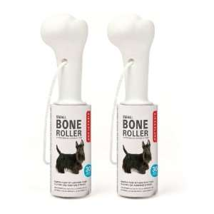 Kikkerland Dog Bone Lint Roller, Small, Set of 2