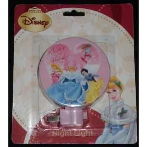 Disney Princess Winter Season Night Light
