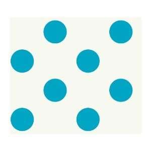 Just Kids KD1867 Large Polka Dot Wallpaper, Blue