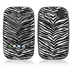 Palm Pre Plus Skin   Black Zebra Skin