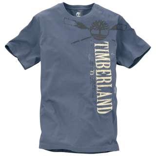 Timberland Mens Short Sleeve Crossed Paddle T Shirt