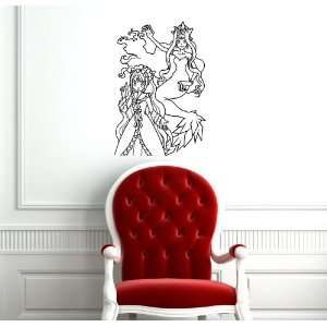 Anime Manga Mermaid Melody Wall Vinyl Sticker Decals Art