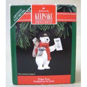 Hallmark Keepsake Polar Post Polar Bear Christmas Tree