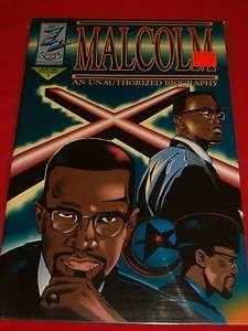 UNAUTHORIZED BIOGRAPHY BLACK HISTORY COMIC BOOK AVON OEMING