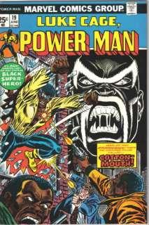 Luke Cage, Power Man Comic Book #19, Marvel 1974 NM