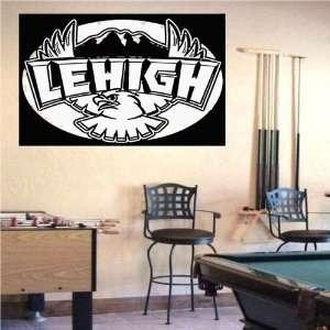 Ncaa Wall Mural Vinyl Sticker Sports Logos Lehigh Mountain Hawks (S335