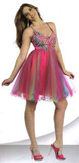 HOT PINK COCKTAIL BRIDESMAIDS HOMECOMING SHORT PROM FORMAL DRESS BALL