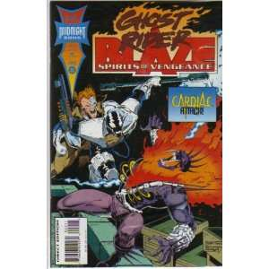 Vengeance 22  Featuring Ghost Rider and Blaze Marvel Comics Books